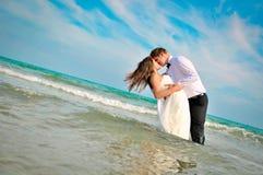 венчание сбора винограда дня пар одежды счастливое Стоковые Фотографии RF