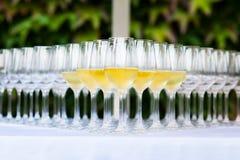 Венчание, стекло шампанского Стоковые Фото