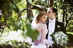 венчание съемки Стоковое Изображение