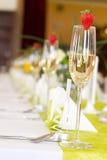 венчание таблицы установки Стоковое Фото