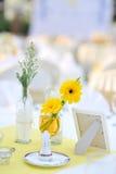 венчание таблицы установки Стоковое фото RF