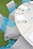 венчание таблицы установки Стоковое Изображение RF