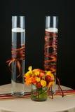 венчание таблицы части цветков центра Стоковое Изображение RF
