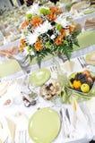 венчание таблицы Стоковая Фотография RF
