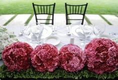 венчание таблицы Стоковые Изображения RF