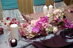 венчание таблицы Стоковые Фото