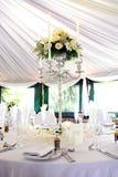 венчание таблицы Стоковое Изображение