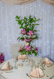 венчание таблицы стекел фокуса Стоковое Фото