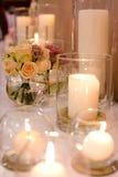 венчание таблицы стекел фокуса Стоковая Фотография RF