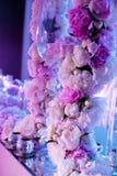 венчание таблицы стекел фокуса Стоковое Изображение RF