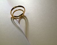 венчание тени Стоковое Изображение