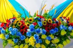 венчание тесемки приглашения цветка элегантности детали украшения предпосылки Стоковое Фото