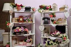венчание тесемки приглашения цветка элегантности детали украшения предпосылки Стоковая Фотография