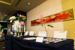венчание типа приема цвета акцента лиловое Стоковая Фотография RF
