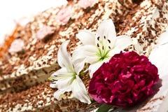 венчание торта Стоковое Изображение
