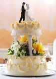 венчание торта Стоковые Фото
