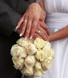 венчание удерживания букета Стоковые Фото