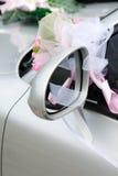 венчание украшения автомобиля Стоковое Изображение