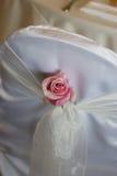венчание украшения стула Стоковая Фотография