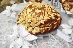 венчание хлебца украинское Стоковые Фотографии RF