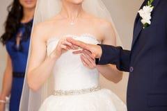 венчание цветка церемонии невесты Стоковые Фото