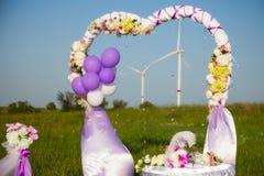 венчание цветка церемонии невесты Стоковая Фотография