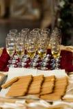 венчание шампанского Стоковое Изображение