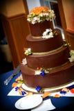 венчание шоколада торта Стоковые Фото