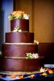 венчание шоколада торта Стоковое Фото