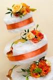 венчание яруса торта 3 Стоковые Фото