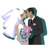 венчание 04 пар Стоковые Фото