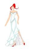 венчание 2 платьев бесплатная иллюстрация