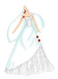 венчание 4 платьев бесплатная иллюстрация