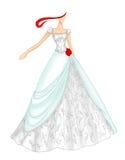 венчание 5 платьев бесплатная иллюстрация
