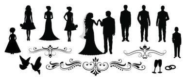 венчание иллюстрация вектора