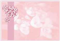 венчание backgroud флористическое Стоковая Фотография RF