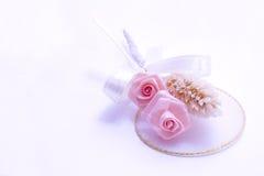 венчание boutonniere розовое Стоковая Фотография RF
