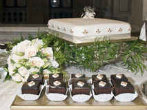 Венчание Chocs стоковое фото rf
