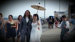 венчание groom церков церемонии невесты Стоковое фото RF