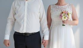 венчание groom церков церемонии невесты Стоковые Изображения RF