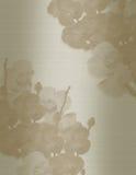 венчание sepia орхидей приглашения Стоковые Фотографии RF