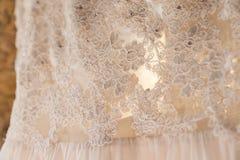 венчание w тона платья детали b голубое Стоковые Фотографии RF