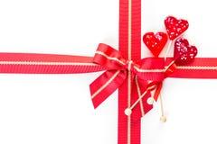 венчания тесемки рождества смычка дней рождения большие Стоковые Фотографии RF