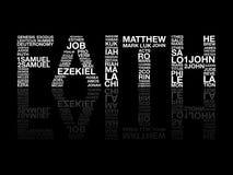 Вера от слова библии бесплатная иллюстрация