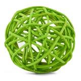 верба путать зеленого цвета ветвей Стоковые Изображения RF