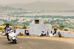 Верблюд справедливый, Раджастхан Pushkar, Индия Стоковое Изображение