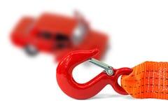 веревочка аварийной ситуации автомобиля Стоковые Фото