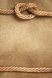 веревочка граници бумажная стоковое изображение