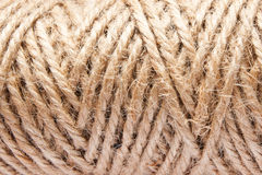 Веревочка джута Стоковые Изображения