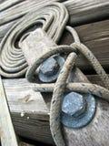 веревочка зажима Стоковые Изображения